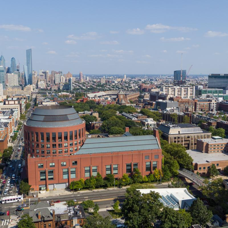 Aerial View  of Penn's Campus